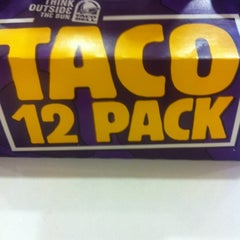 Photo taken at Taco Bell by Rebecca M. on 4/12/2012