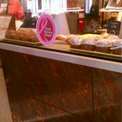 Photo taken at Saint Louis Bread Co. by Taylor F. on 10/14/2011