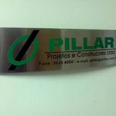 Photo taken at Pillar Projetos e Construções by Marcelo V. on 10/7/2011