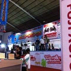 Photo taken at SCOMDEX 2011 Surabaya by Chandra on 11/1/2011