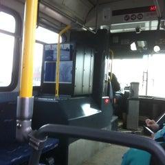 Photo taken at NFTA Metro Bus Route 20 - Elmwood by Beth on 3/4/2011