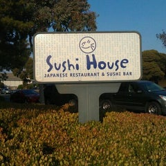 Photo taken at Sushi House by Larry W. on 9/12/2011