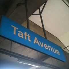 Photo taken at Yellow Line - Taft Avenue Station by Angelo S. on 1/11/2012
