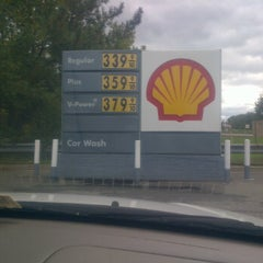 Photo taken at Shell by MT on 10/20/2011