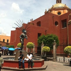 Photo taken at Templo de San Francisco by Rodrigo R. on 7/18/2012