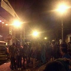Photo taken at Praça Tiradentes by Ricardo S. on 2/19/2012