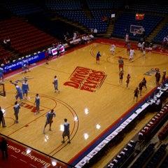 Photo taken at UD Arena by Ken K. on 1/28/2012