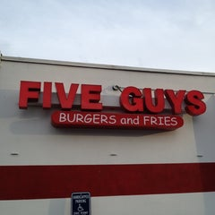 Photo taken at Five Guys by Paul W. on 12/17/2011