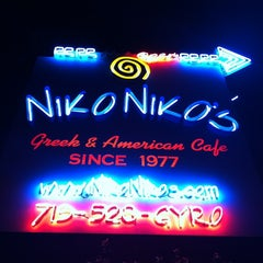 Photo taken at Niko Niko's by Jason F. on 4/1/2012