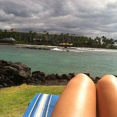 Photo taken at Ocean Tower Pool by Jen H. on 9/1/2012