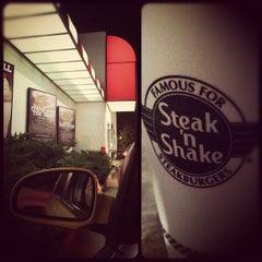Photo taken at Steak 'n Shake by Sasha M. on 4/21/2012
