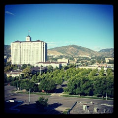 Photo taken at Red Lion Hotel Salt Lake Downtown by Jejuan M. on 6/10/2012