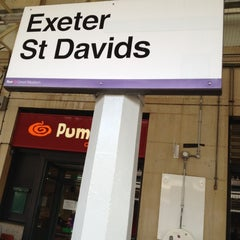 Photo taken at Exeter St Davids Railway Station (EXD) by Jo C. on 6/2/2012