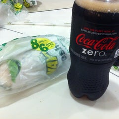Photo taken at Subway by Yeo won Y. on 5/8/2012