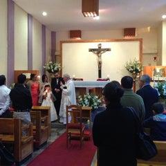 Photo taken at Convento de las Hermanas Misioneras Eucarísticas by Lythai M. on 6/2/2012