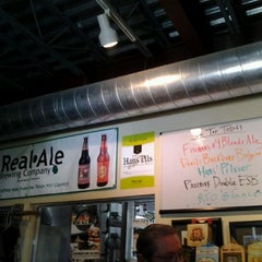 Photo taken at Real Ale Brewing Company by RoxC on 5/17/2012