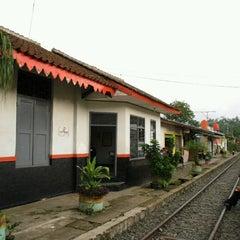 Photo taken at Stasiun Parungkuda by Arga S. on 8/8/2012