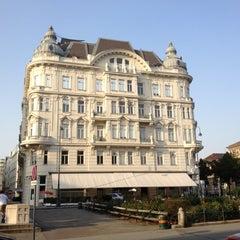 Photo taken at Café Prückel by Docjur on 7/1/2012