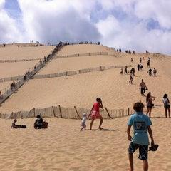 Photo taken at Dune du Pilat by Alicia R. on 8/11/2012