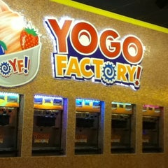 Photo taken at Yogo Factory by Lizz R. on 6/19/2012