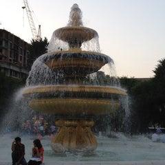 Photo taken at Hüseyn Cavid parkı by H G. on 7/3/2012