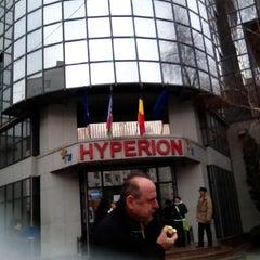 Photo taken at Universitatea Hyperion by Raisa C. on 12/16/2011