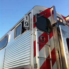 Photo taken at Caltrain #319 Northbound Baby Bullet by Jared on 5/5/2011