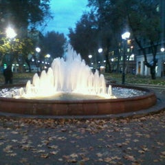 Photo taken at Paseo Bulnes by Gonzalo M. on 6/13/2012