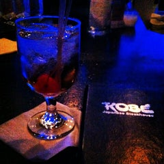 Photo taken at Kobe Japanese Steakhouse & Sushi Bar by John D. on 7/6/2012