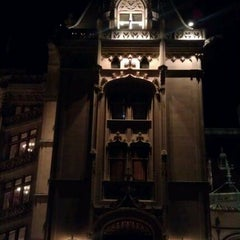 Photo taken at Biltmore Estate Main Gate by Jennifer H. on 12/28/2011