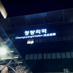 Photo taken at 청량리역 (Cheongnyangni Stn.) by Bo-Yoon C. on 6/19/2012