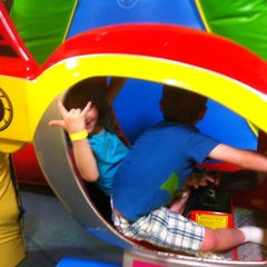 Photo taken at Monkey Joes by Robyn J. on 3/19/2011