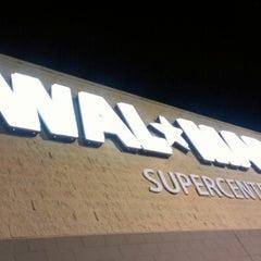 Photo taken at Walmart Supercenter by Tylan A. on 8/29/2012