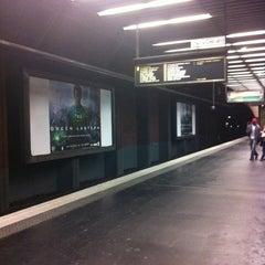 Photo taken at RER La Défense – Grande Arche [A] by Esteban D. on 7/18/2011