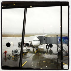 Photo taken at Aéroport de Lille (LIL) by Roel C. on 3/7/2012