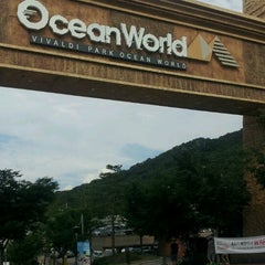 Photo taken at 오션월드 (Ocean World) by Jenney K. on 8/26/2012