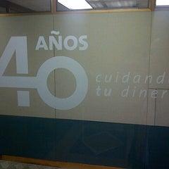 Photo taken at Banco BHD León by Oscar O. on 3/9/2012