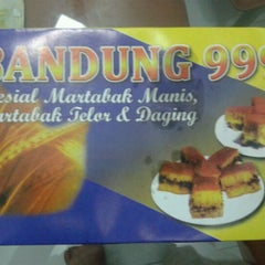 Photo taken at Martabak Bandung 999 by Road C. on 6/26/2012