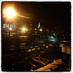Photo taken at Holiday Inn Express Worcester Downtown by Wes D. on 11/1/2011