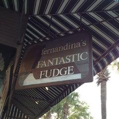 Photo taken at Fernandina's Fantastic Fudge by Eric L. on 3/26/2012