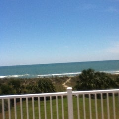 Photo taken at 49th Avenue Beach Access by Jayne on 6/17/2012