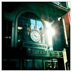 Photo taken at Nat Sherman Townhouse by Dave P. on 10/22/2011