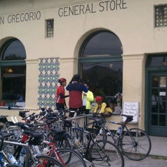 Photo taken at San Gregorio General Store by Noway J. on 5/7/2011