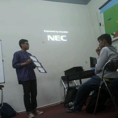 Photo taken at STISI Telkom Art & Design School by Rinaldi A. on 3/20/2012