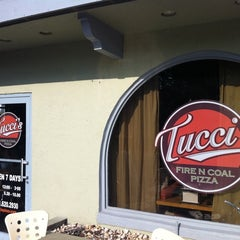Photo taken at Tucci's Fire N Coal Pizza by Christopher H. on 4/23/2011