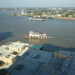 Photo taken at Hilton New Orleans Riverside by Joe M. on 9/17/2011