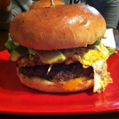 Photo taken at G Burger by Andrew K. on 11/26/2011