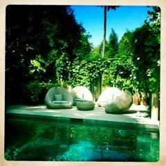 Photo taken at Villa Balquisse Bali by Jérôme D. on 5/25/2012