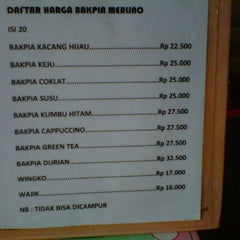 Photo taken at Merlino Bakery, Tart & Bakpia by Septawisnu P. on 4/18/2012