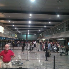 Photo taken at Terminal A International Departures by Cobus H. on 10/15/2011